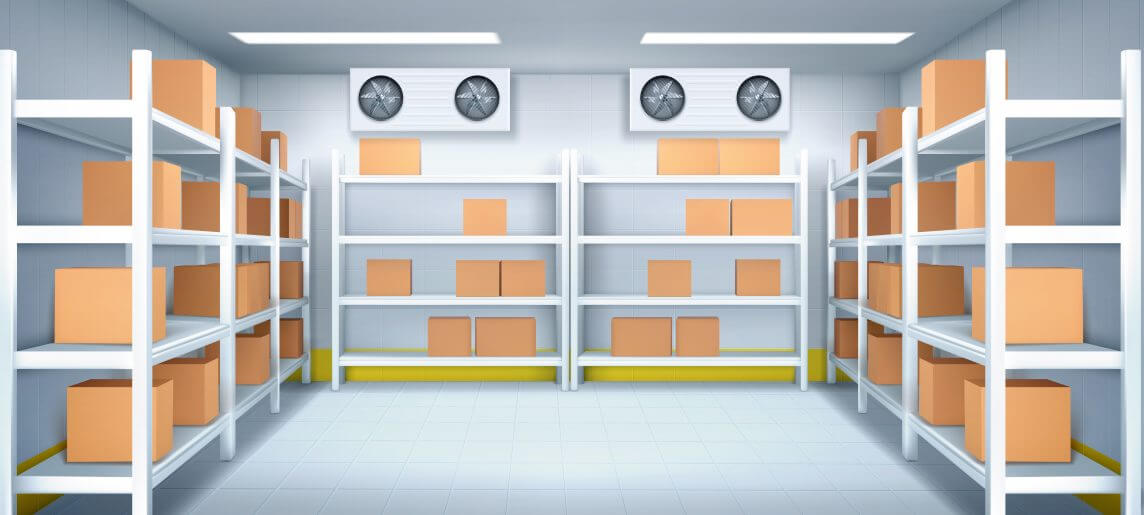 Controlled Temperature Warehouse