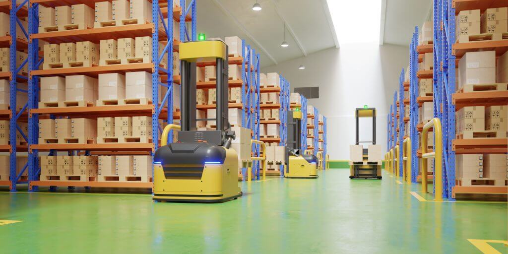 Technology in warehouses